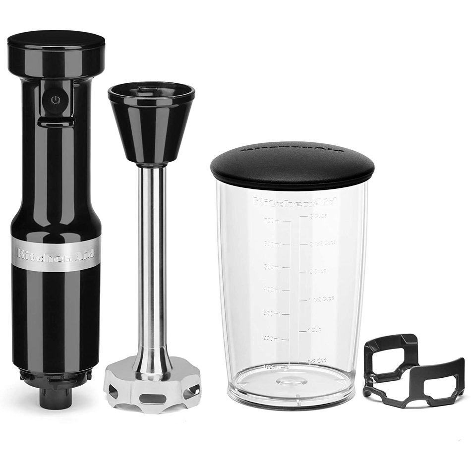 KitchenAid Kitchenaid Variable Speed Corded Hand Blender, Onyx Black