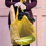 Now Designs Le Marche Shopping Bag Gold