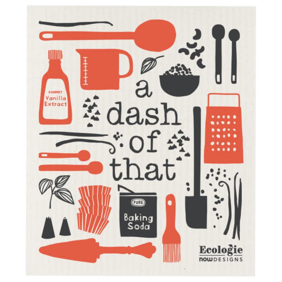 Swedish Dishcloth, A Dash of That