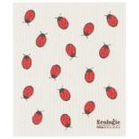Swedish Dishcloth Fly Away Ladybug