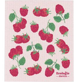 Swedish Dishcloth, Raspberries