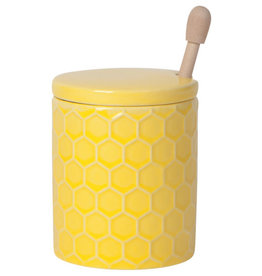 Now Designs Honeycomb Honey Pot