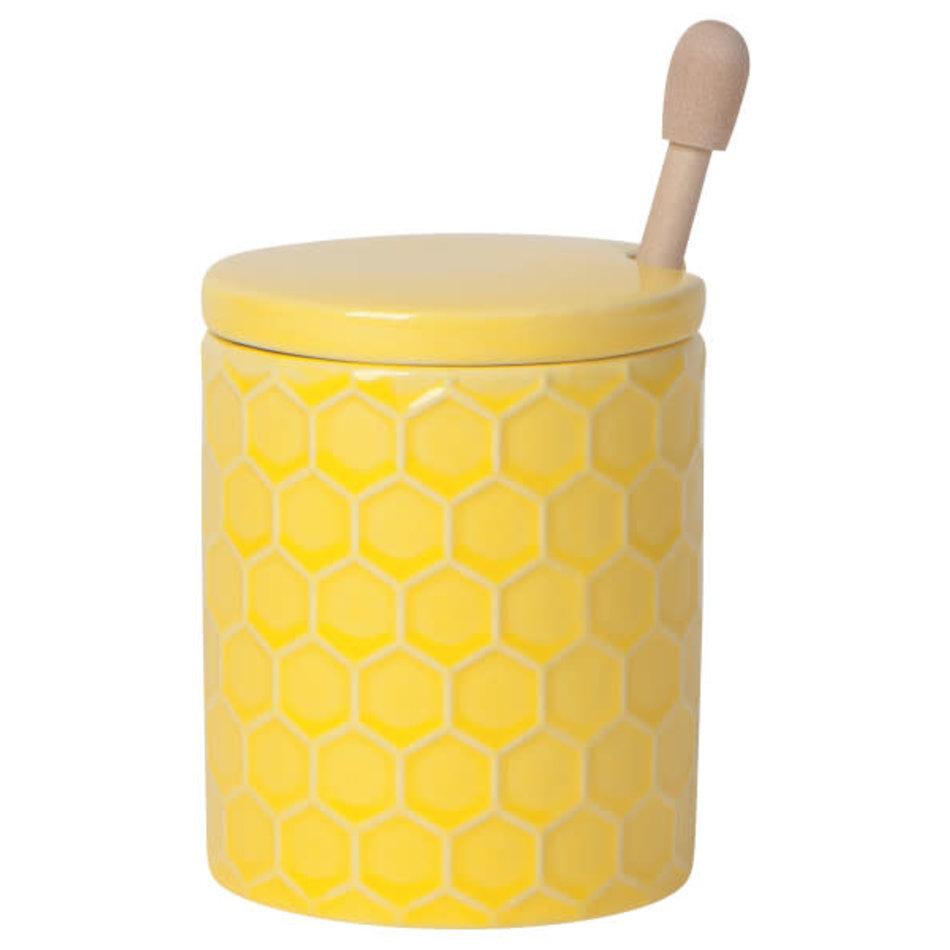 Now Designs Honeycomb Honey Pot