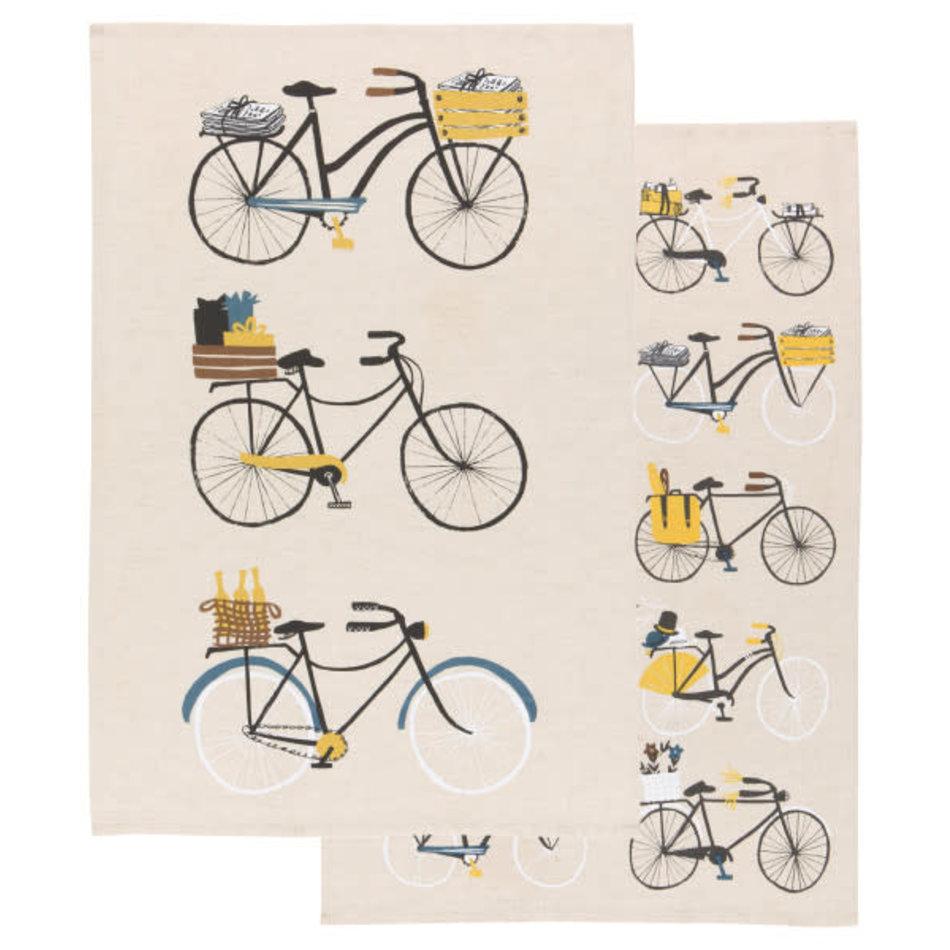 Now Designs Bicicletta Dishtowel Set
