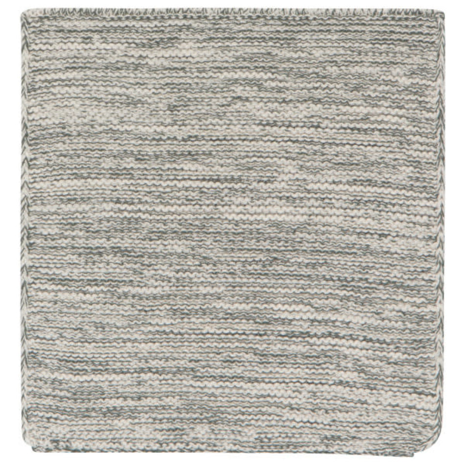 Now Designs Heirloom Knit Dishcloth, Set of 2, Jade