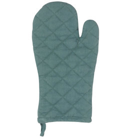 Now Designs Heirloom Stonewash Oven Mitt Lagoon