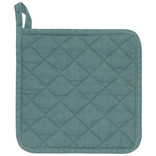 Now Designs Heirloom Stonewash Potholder Lagoon