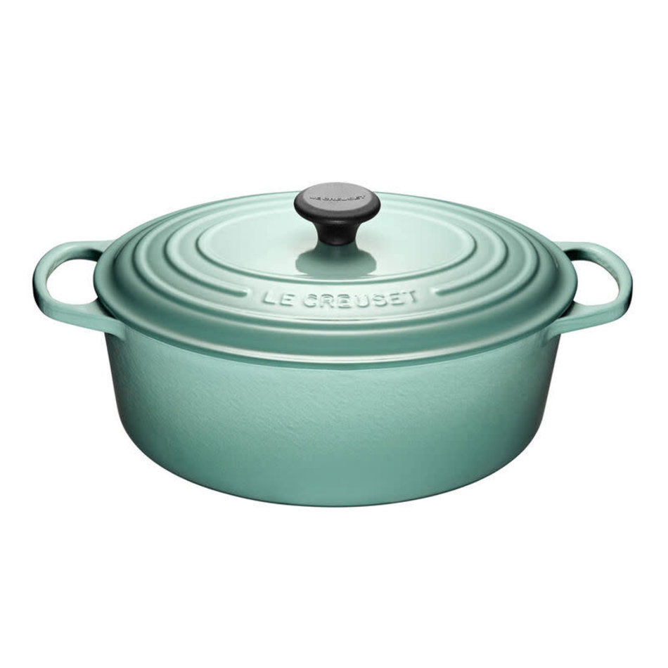 Le Creuset Le Creuset 6.3L Oval French Oven Sage