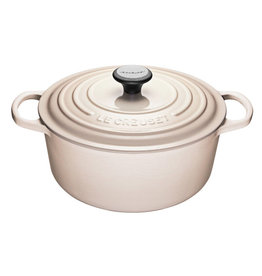 Le Creuset Le Creuset 5.3L Round French Oven Meringue
