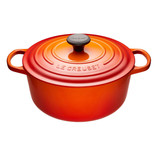 Le Creuset Le Creuset 5.3L Round French Oven Flame