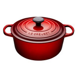 Le Creuset Le Creuset 5.3L Round French Oven Cherry