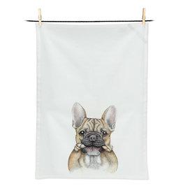 Abbott Bruce Bulldog Tea Towel