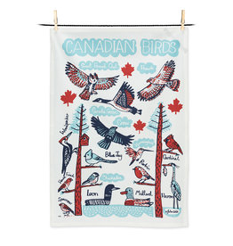 Abbott Canadian Birds Tea Towel