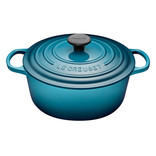 Le Creuset Le Creuset 5.3L Round French Oven Teal