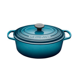 Le Creuset Le Creuset 4.7L Oval French Oven Teal