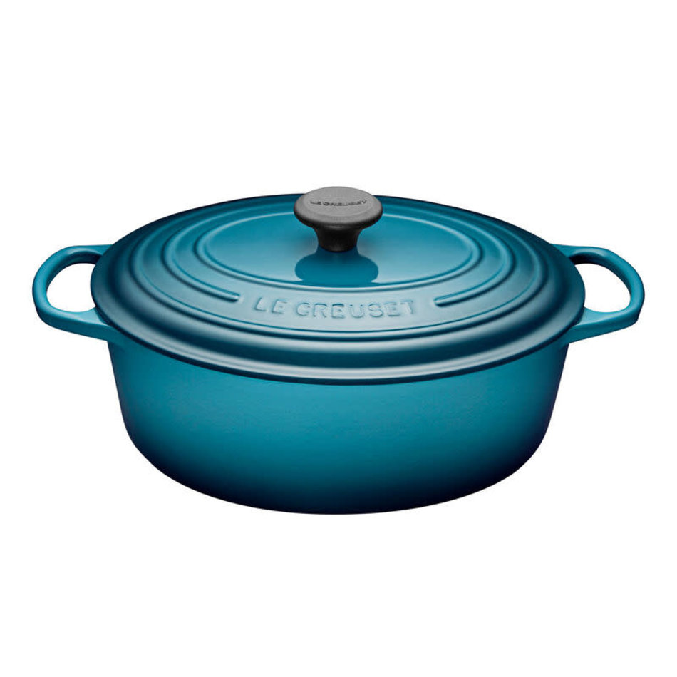 Le Creuset Le Creuset 6.3L Oval French Oven Teal