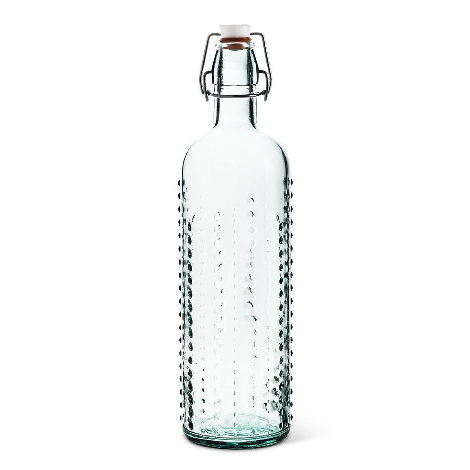 Abbott Urchin  Glass Bottle with Seal , 36oz