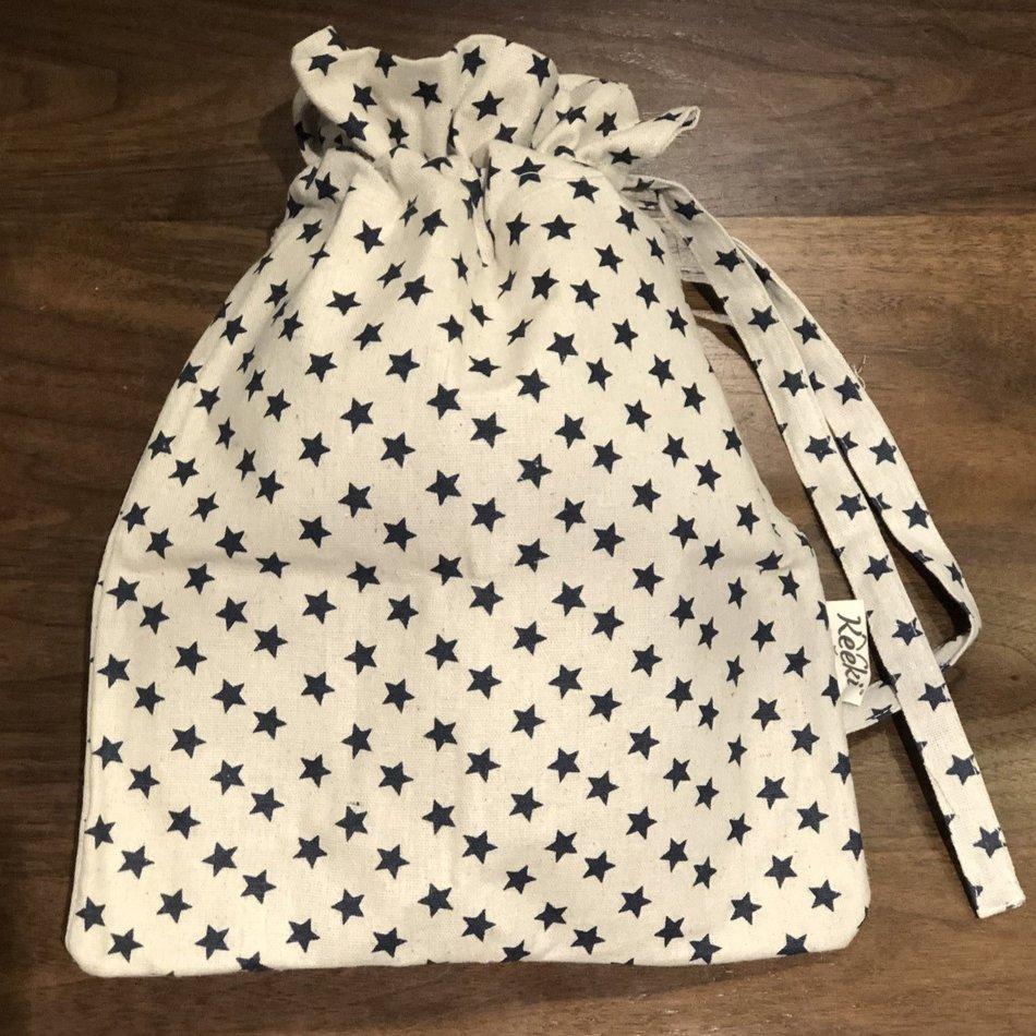 Keeki Boule Bread Bag, Blue Stars