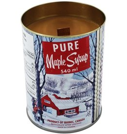 Maple Candle in Can