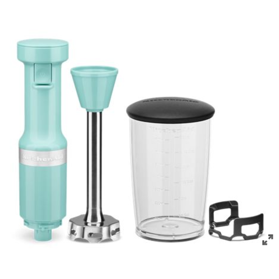 KitchenAid Kitchenaid Variable Speed Corded Hand Blender, Ice Blue