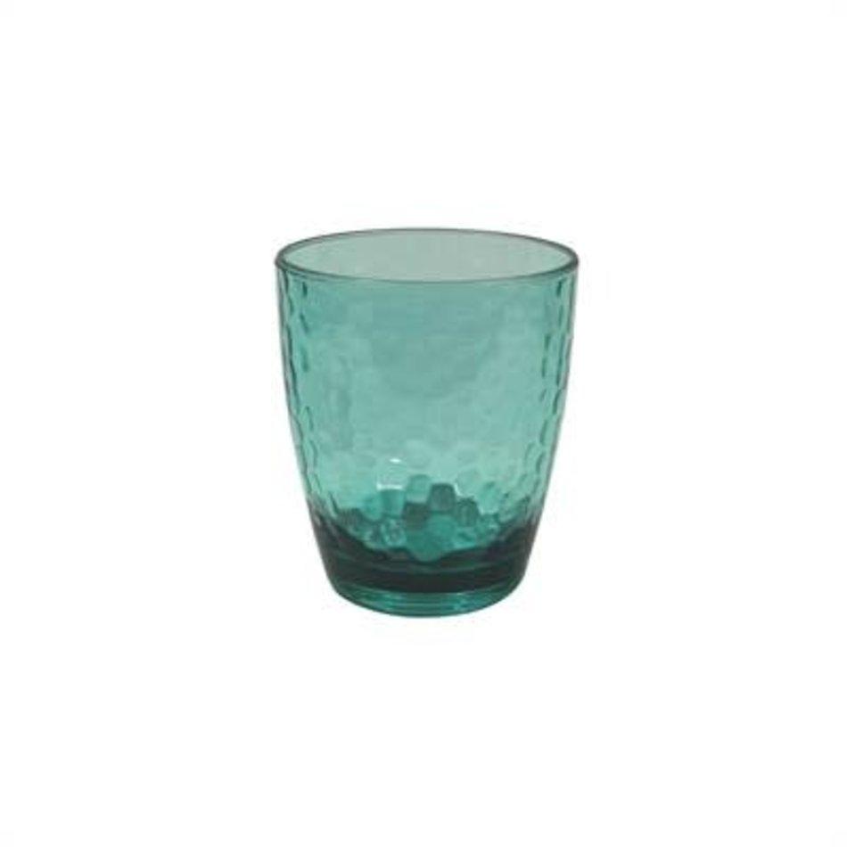 Acrylic Glass, 12oz, Aqua
