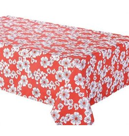"""Cerise Tablecloth, 58""""x78"""", Red"""