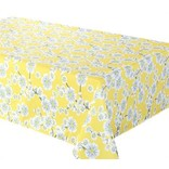 "Cerise Tablecloth, 58""x78"", Yellow"