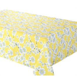 "Cerise Tablecloth, 58""x78"", Yellow"