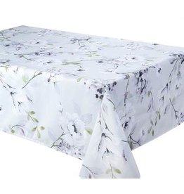 "Dahlia Tablecloth, 58""x78"", Dove"