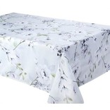"Dahlia Tablecloth, 58""x120"", Dove"