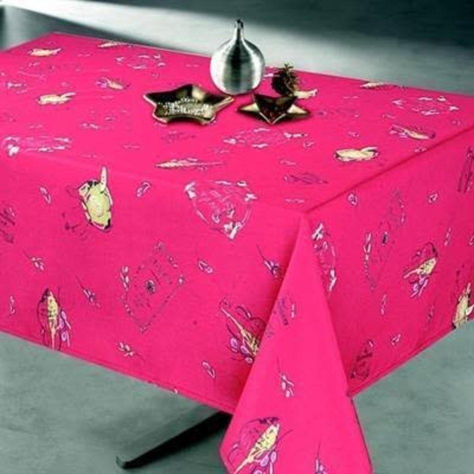 "Tuscan Tablecloth, 58""x78"", Wine"