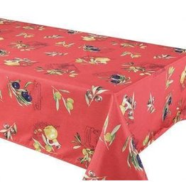"""Primo Tablecloth, 58""""x78"""", Red"""