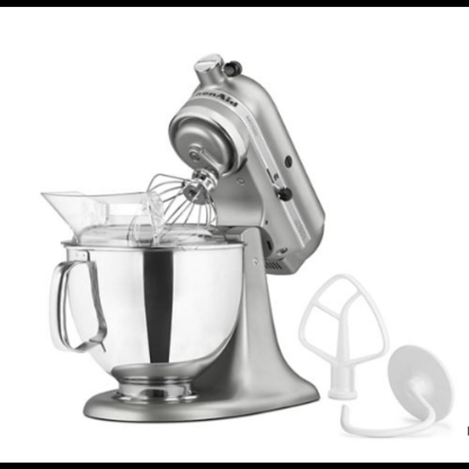 KitchenAid KitchenAid Artisan Series 5 Quart Tilt-Head Stand Mixer, Contour Silver