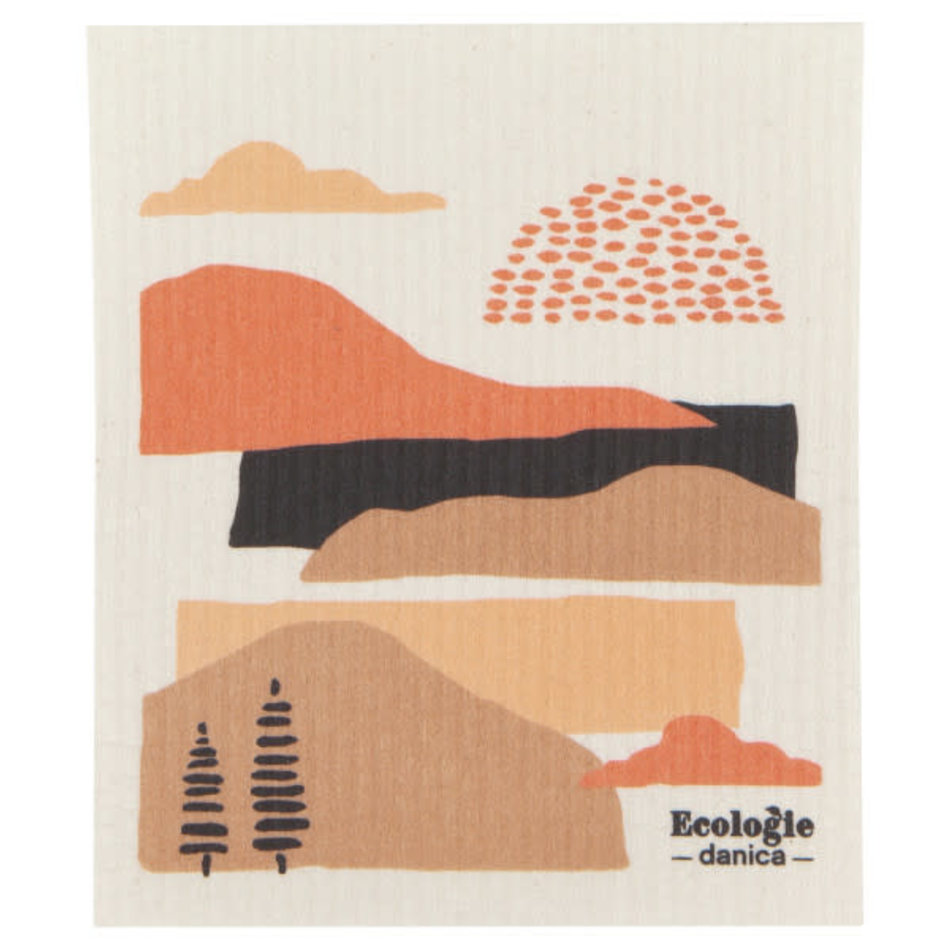 Now Designs Swedish Dishcloth, Terra