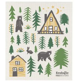 Now Designs Swedish Dishcloth, Wildlife