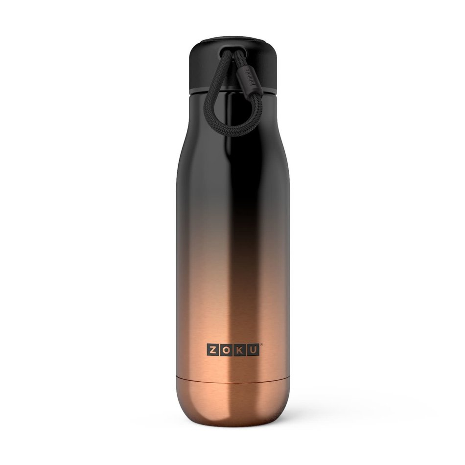 ZOKU Zoku Water Bottle, 18oz Gold Ombre