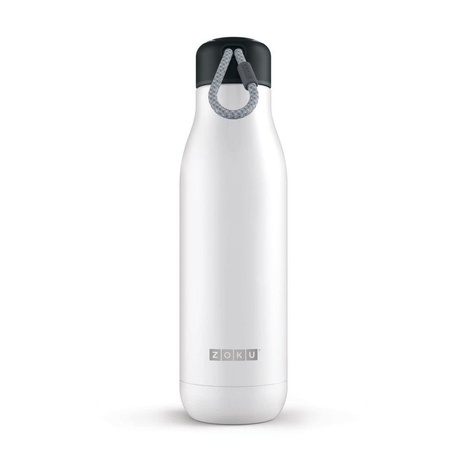 ZOKU Zoku Water Bottle, 25oz White