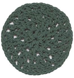 Now Designs Heirloom Knotted Trivet, Jade