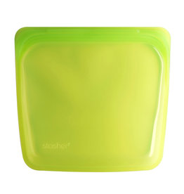 Stasher Stasher Reusable Bag, Sandwich, Lime