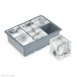 """Final Touch Extra Large 2"""" Ice Cube Tray, Silicone"""