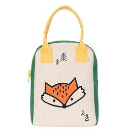 Fluf Fluf Zip Lunch Bag, Fox