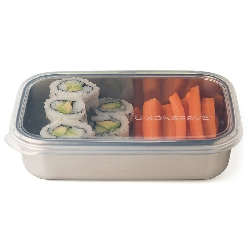 uKonserve uKonserve Rectangular 25oz Container with Silicone Lid