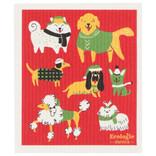 Now Designs Swedish Dishcloth, Yule Dogs