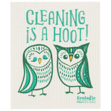 Now Designs Swedish Dishcloth, Cleaning is a Hoot