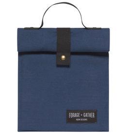 Forage & Gather Lunch Bag, Blue
