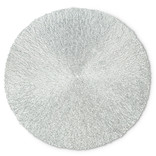 Silver Textured Placemat