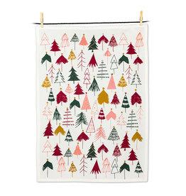 Wintry Trees Tea Towel