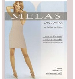 Melas Melas Women's Bare Control Top 8 Denier AS-614