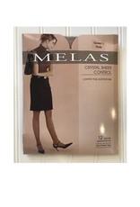 Melas Melas  Women's Crystal Sheer Control Top Queen AS-609Q