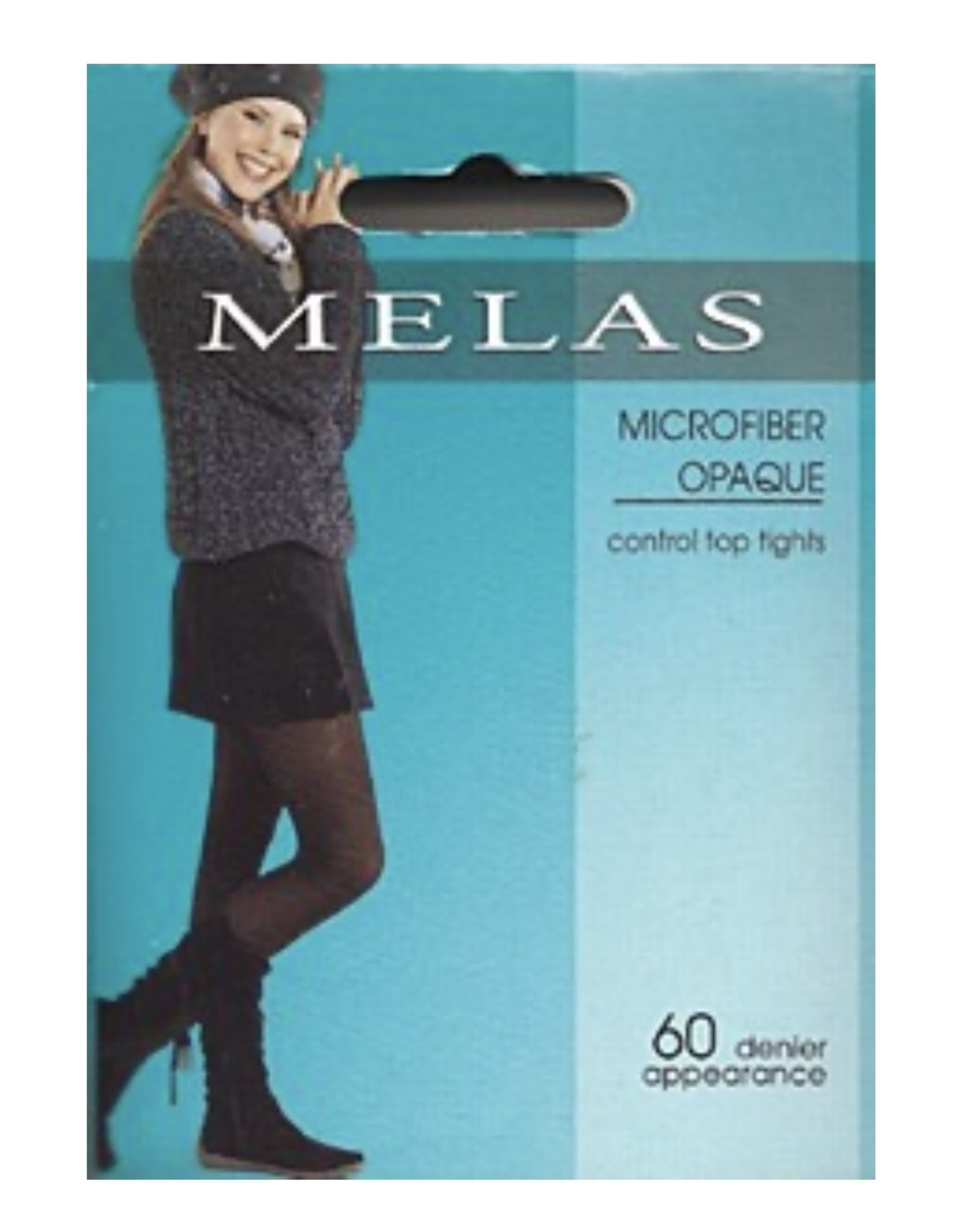 Melas Melas Women's Opaque Control Top 60 Denier Tights Queen AT-636Q